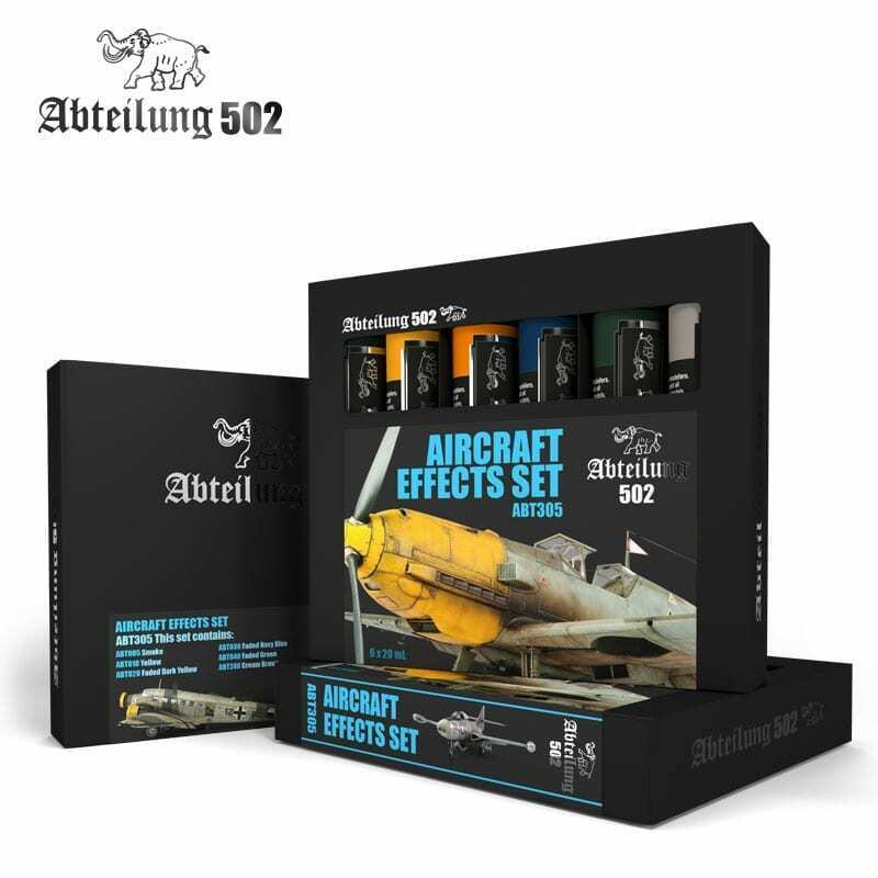 Abteilung502 Aircraft Effects Set New - TISTA MINIS
