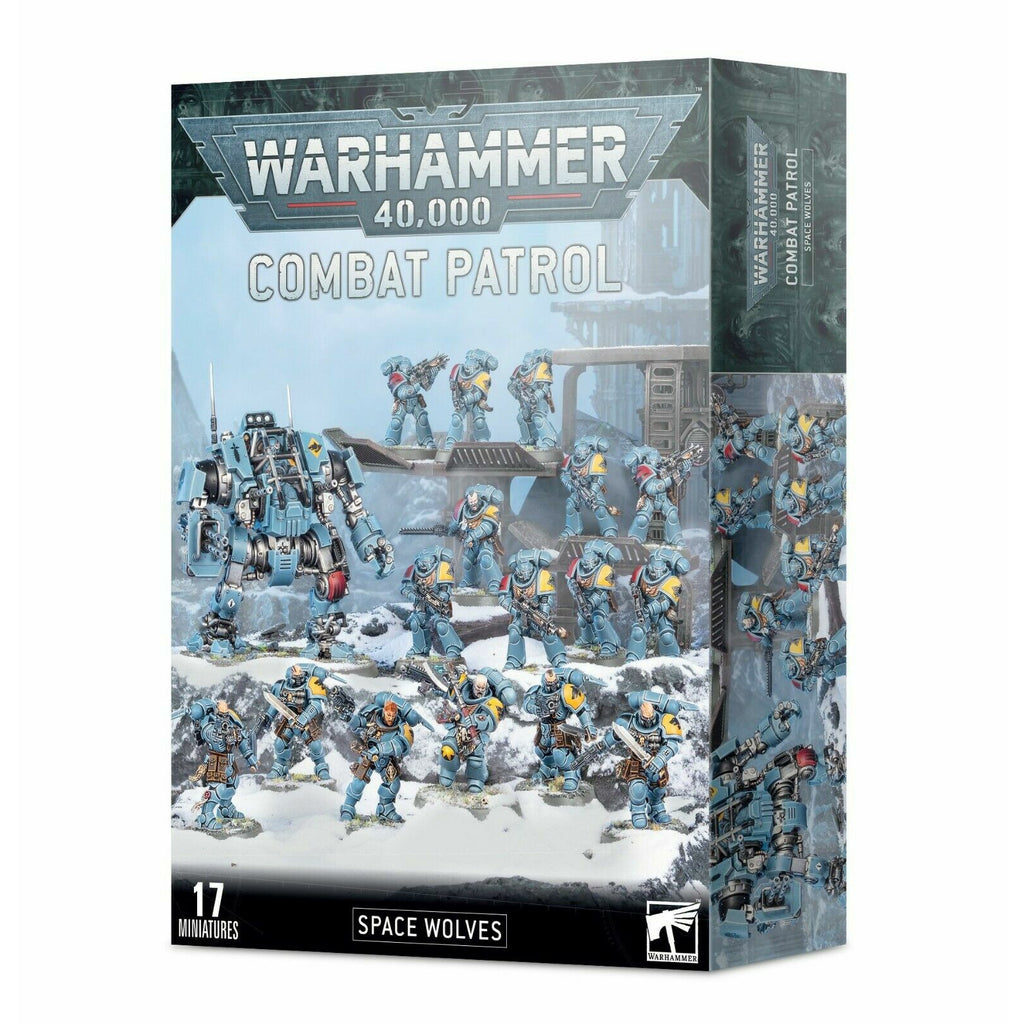 Warhammer COMBAT PATROL: SPACE WOLVES New - TISTA MINIS