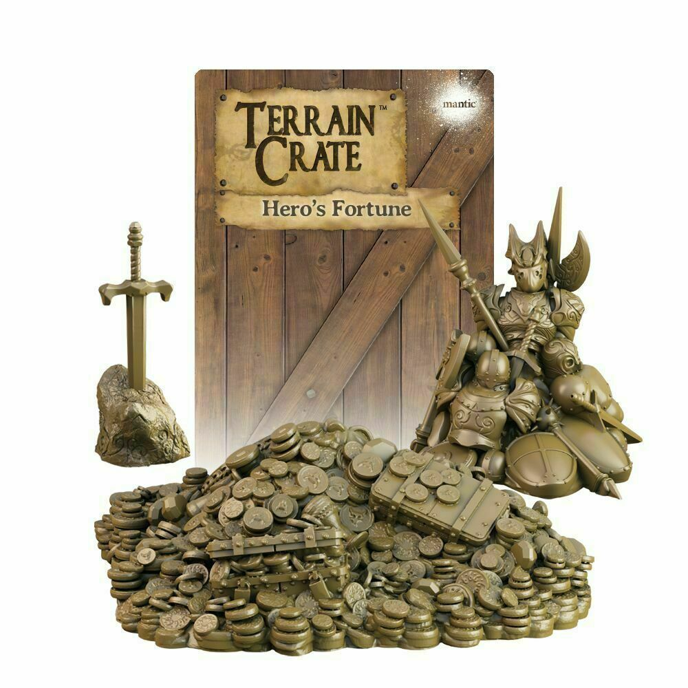 Terraincrate: Hero's Fortune New  - MGTC139