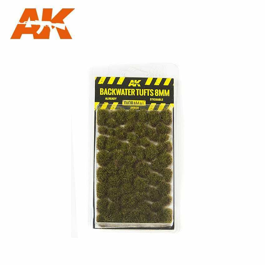 AK Interactive Backwater Tufts 8mm New
