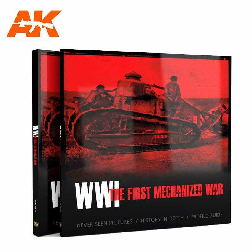 AK Interactive WWI THE FIRST MECHANIZED WAR New - TISTA MINIS
