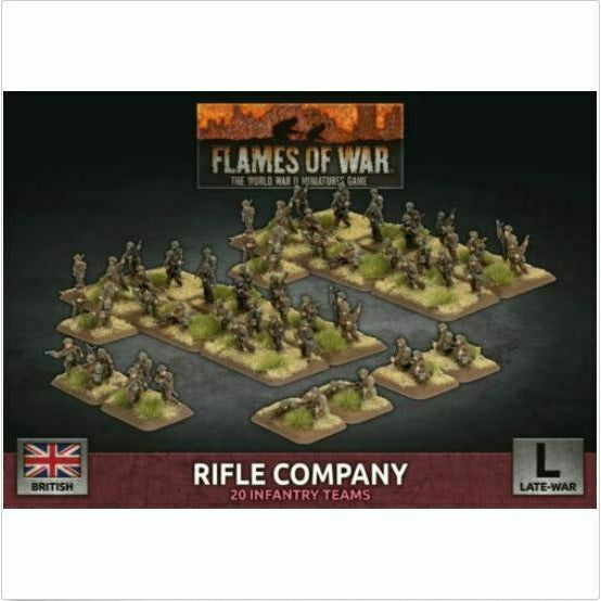 Flames of War British Rifle Company New - TISTA MINIS
