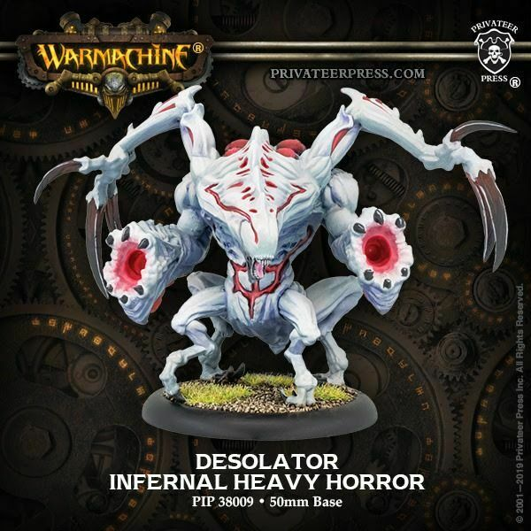 Warmachine Infernals Desolator Heavy Horror NEW