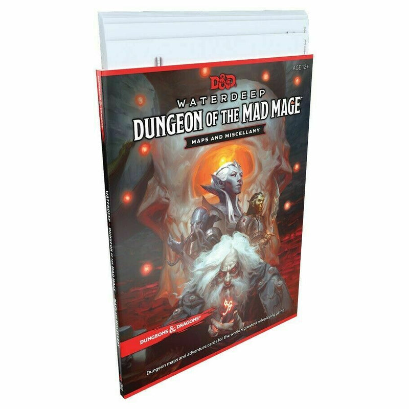 Dungeons and Dragons Waterdeep Dungeon of the Mad Mage Map Pack 1 New