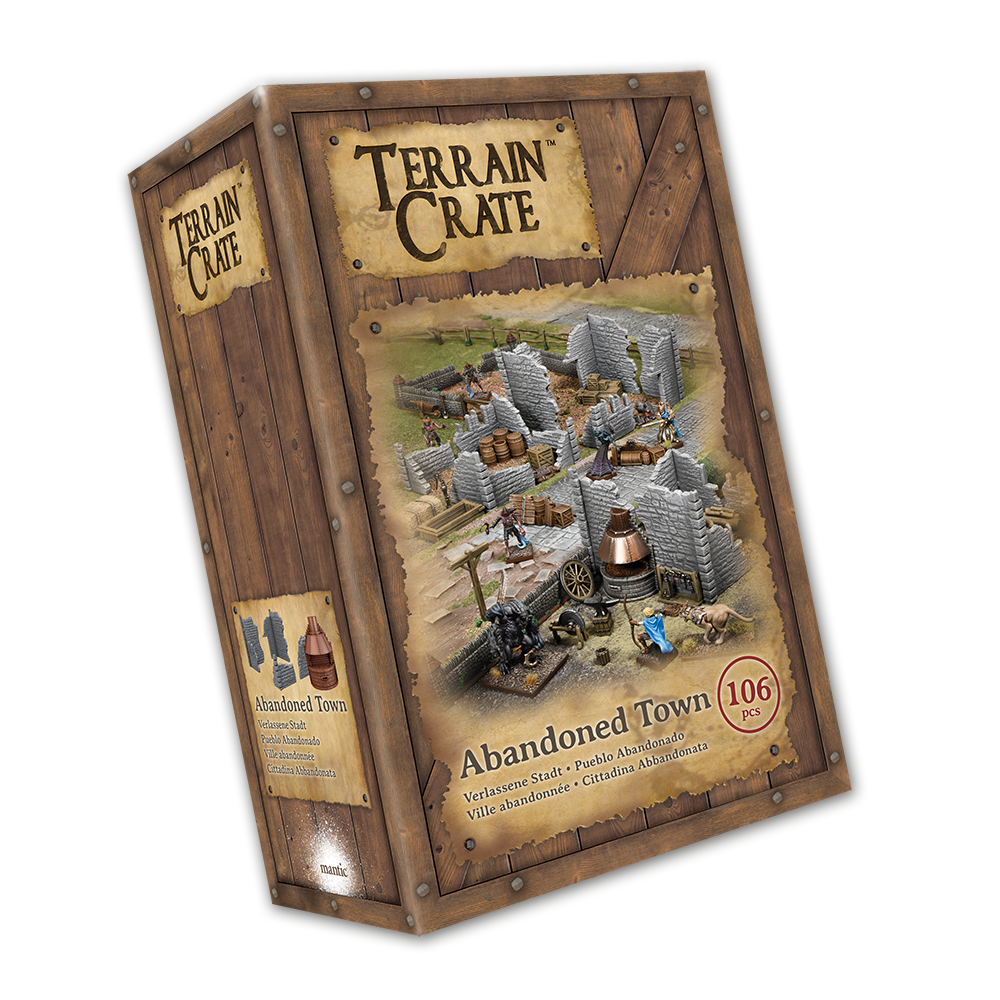 Terraincrate: Abandoned Town New  - MGTC210