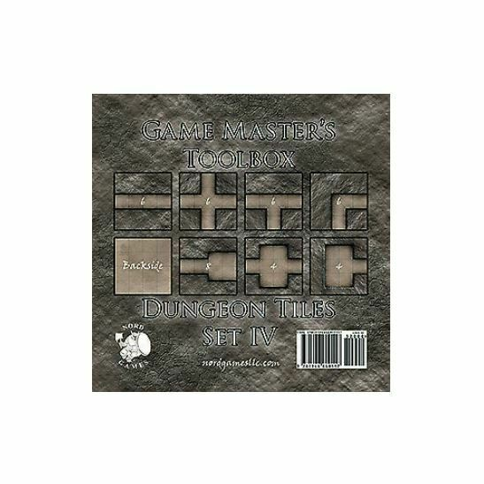 Game Master's Toolbox - Dungeon Tiles Set 4 New