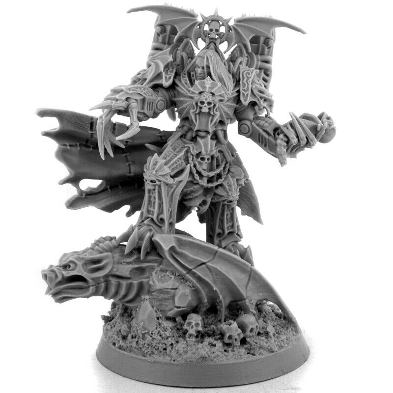 Wargame Exclusive CHAOS LORD OF THE NIGHT 28mm New - TISTA MINIS