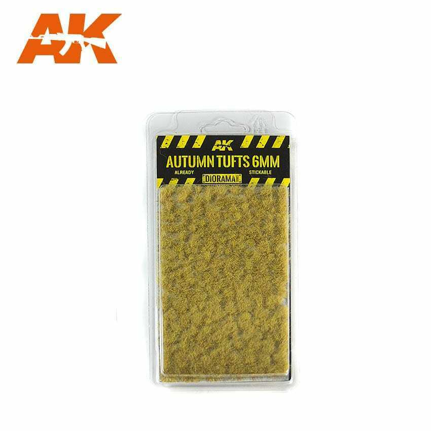 AK Interactive Autumn Tufts 6mm New