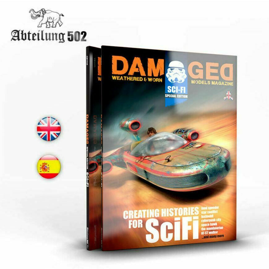 Abteilung502 Damaged: Special Edition Scifi  - English Book New
