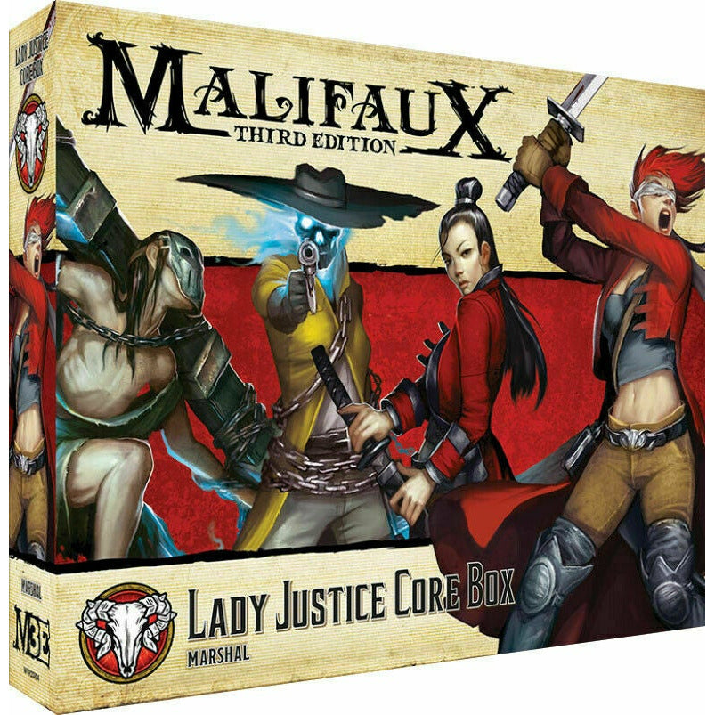 Malifaux Lady Justice Core Box New - TISTA MINIS