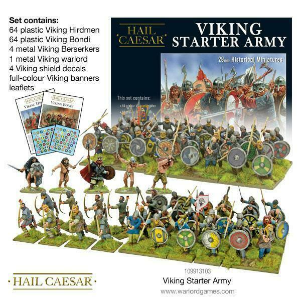 Hail Caesar Viking Starter Army New