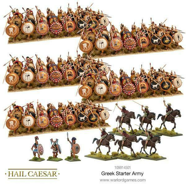 Hail Caesar Greek Starter Army New