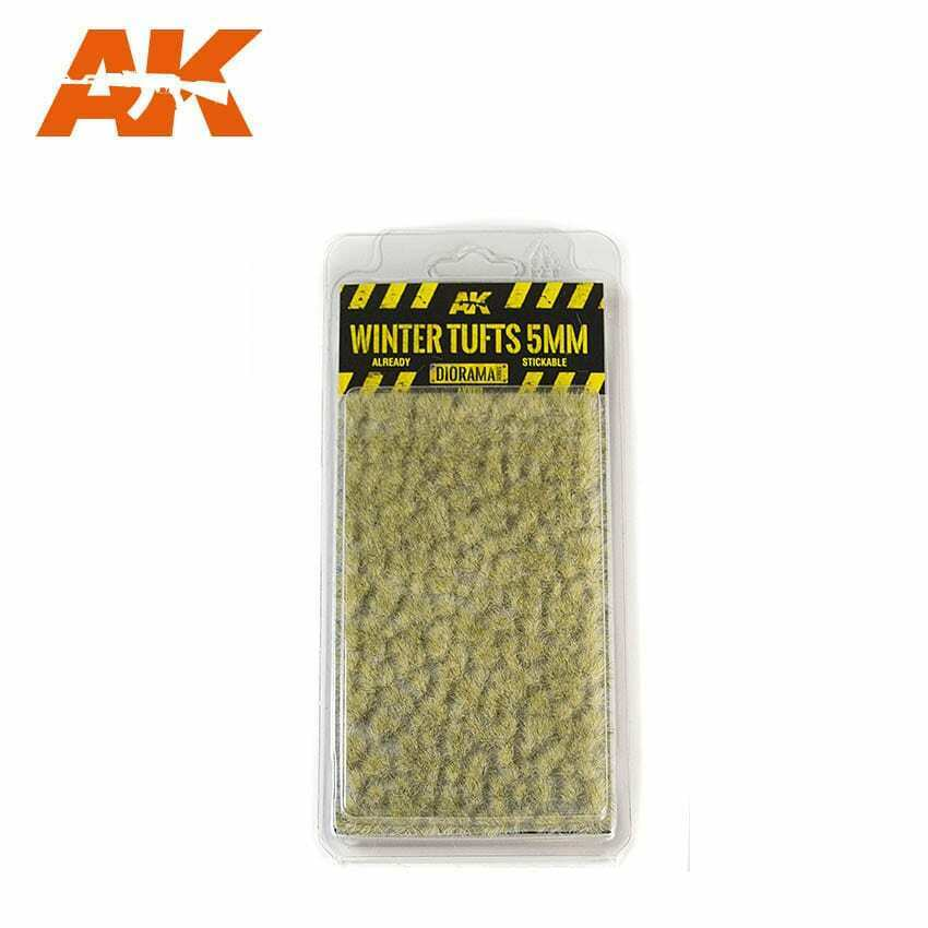 AK Interactive Winter Tufts 5mm New