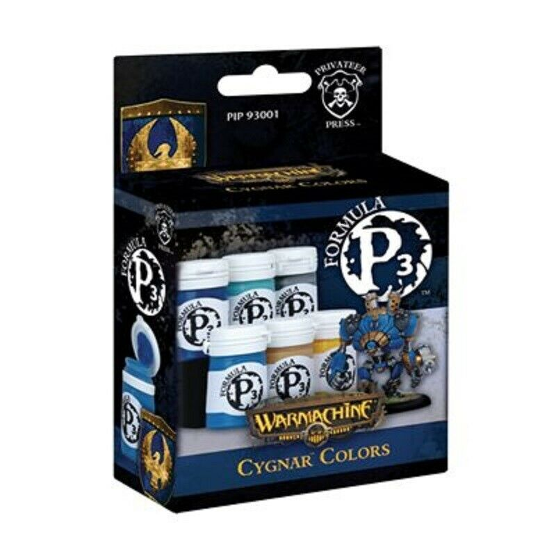 Warmachine Formula P3 Cygnar Colours New