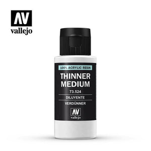 Vallejo Thinner Medium 60ml VAL73524 New - TISTA MINIS