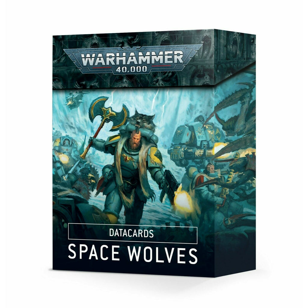 Warhammer DATACARDS: SPACE WOLVES New - TISTA MINIS