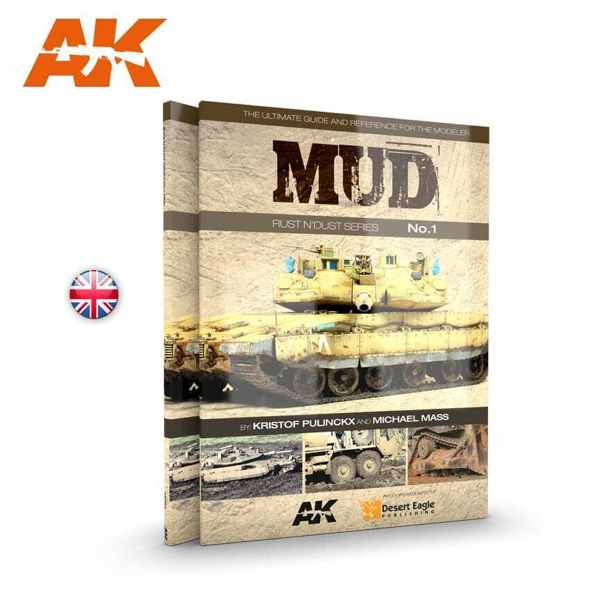 AK Interactive MUD. RUST DUST SERIES VOL.1 New - TISTA MINIS
