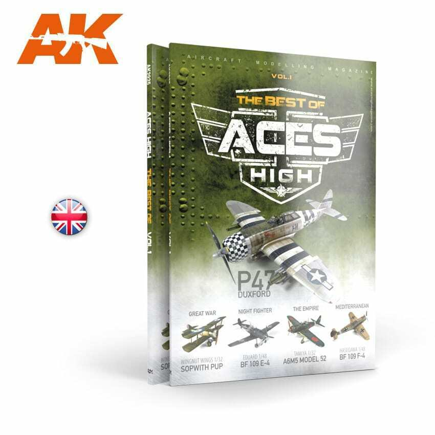 AK Interactive ACES HIGH Magazine THE BEST OF. VOL1 New - TISTA MINIS
