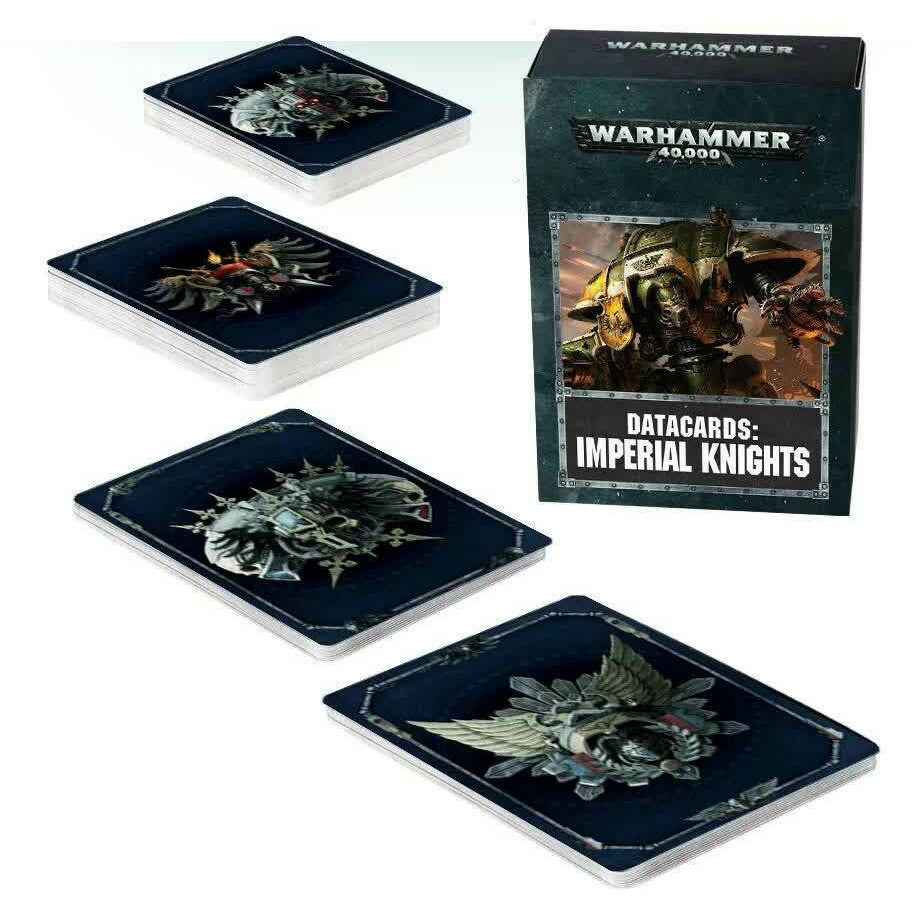 Warhammer Imperial Knights Datacards New