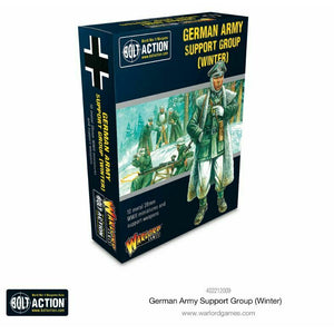 Bolt Action German Army Support Group (Winter) New