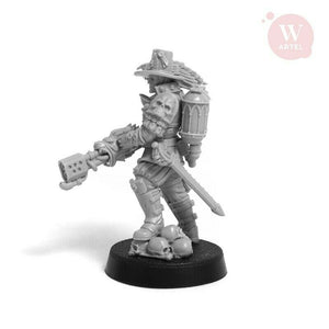 Artel Miniatures - Witch-Hunter Hanzel von Schwarzwald 28mm New