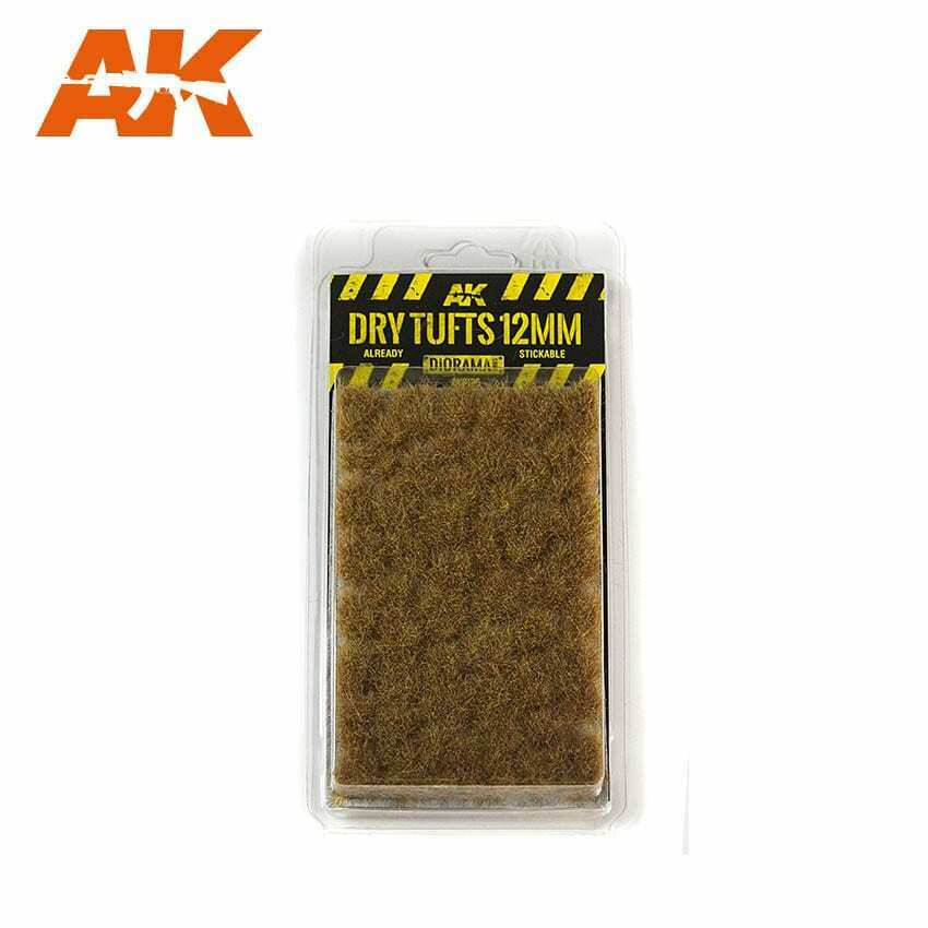 AK Interactive Dry Tufts 12mm New
