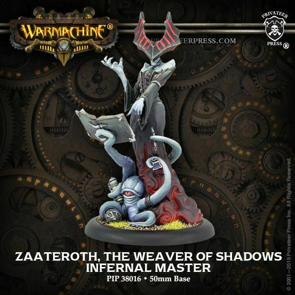 Warmachine Infernals Zaateroth, The Weaver of Shadows NEW