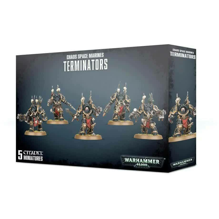 Warhammer Chaos Space Marine Terminators New