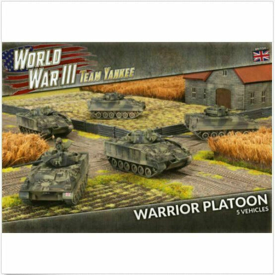 Flames of War Team Yankee Warrior Platoon New