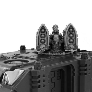 Wargame Exclusive IMPERIAL SMALL MISSILE LAUNCHER TURRET [CONVERSION SET] New - TISTA MINIS
