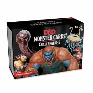 Dungeons & Dragons: Monster Cards Challenge 0-5 | TISTAMINIS