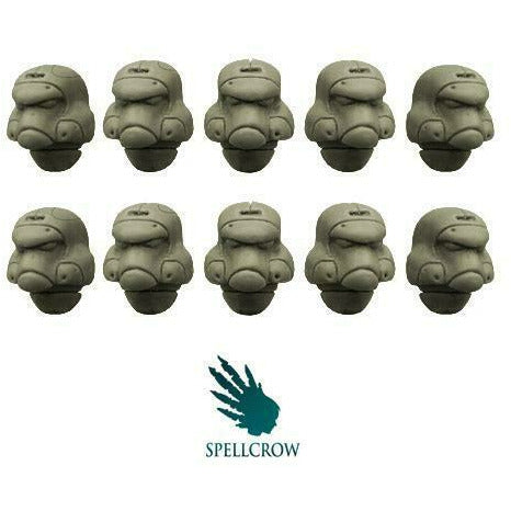 Spellcrow Space Knights Helmets (Empire Pattern) - SPCB5862 - TISTA MINIS