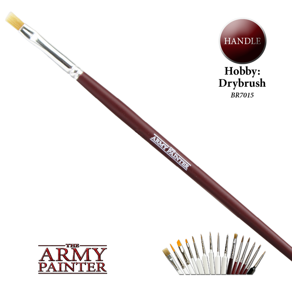 Army Painter Hobby Brush - Drybrush Brush BR7015 New - TISTA MINIS