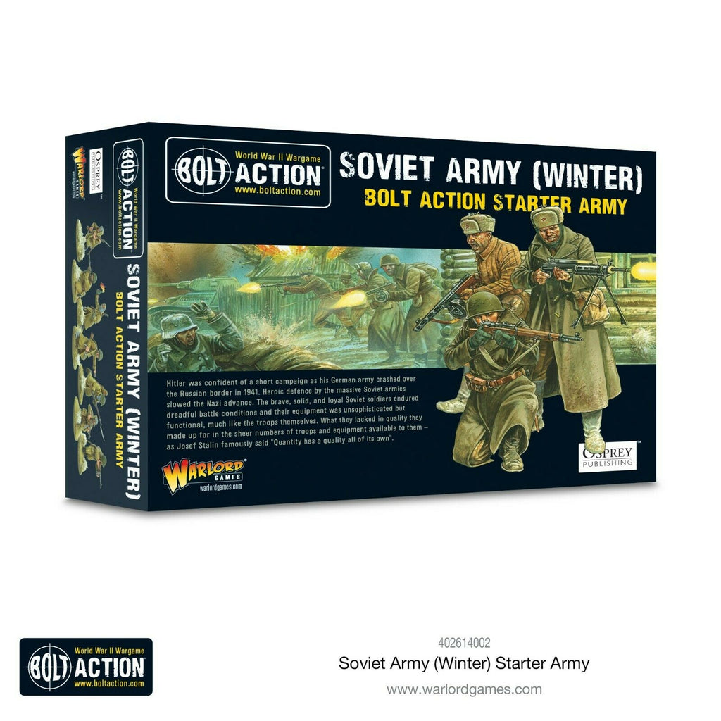 Bolt Action Soviet Army Winter Starter Army New