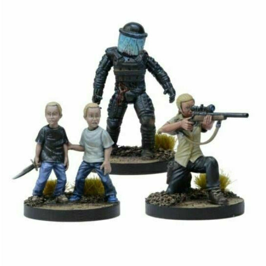 The Walking Dead: W3 Andrea, Prison Sniper Booster New - TISTA MINIS