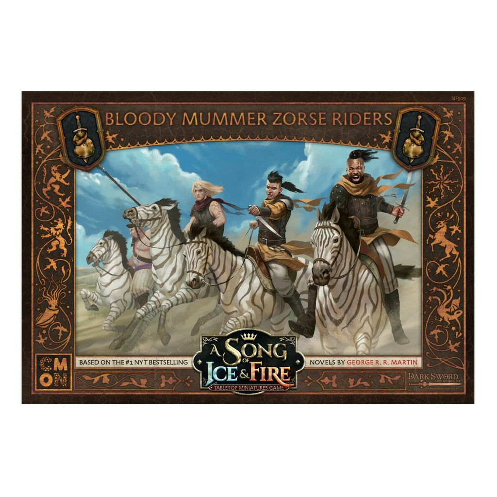 Song of Ice and Fire : BLOODY MUMMERS ZORSE RIDERS New