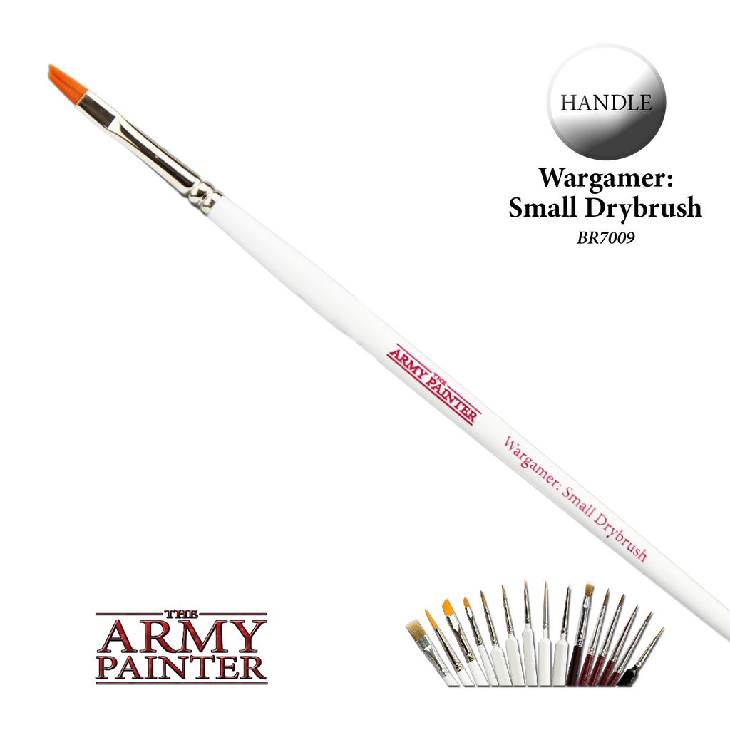 Army Painter Hobby Brush - Small Drybrush BR7009 New - TISTA MINIS