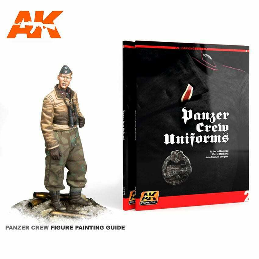 AK Interactive PANZER CREW UNIFORMS (AK LEARNING SERIES No2) New - TISTA MINIS
