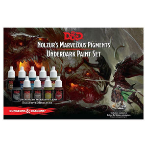 Dungeons and Dragons Underdark Paint-set - With Mini New