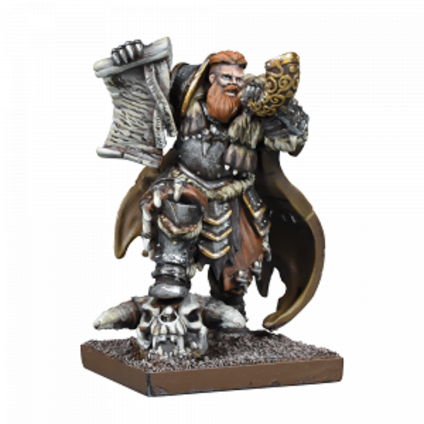 Kings of War Northern Alliance Lord/Skald New - TISTA MINIS