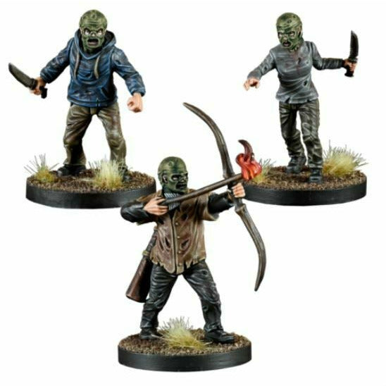 The Walking Dead: Rulebook - The Whisperers Booster New - TISTA MINIS