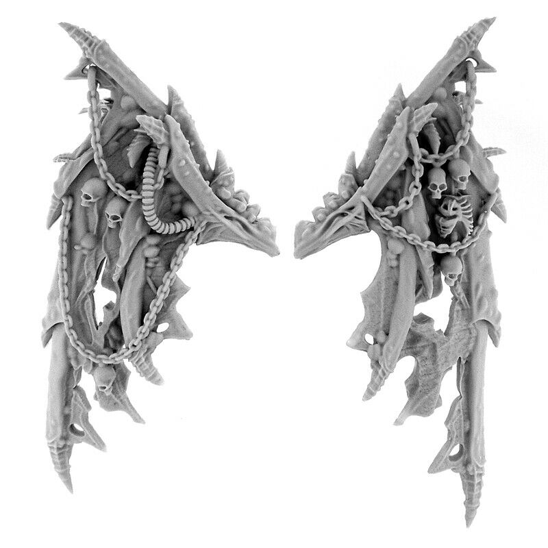 Wargame Exclusive CHAOS DAEMON WINGS New