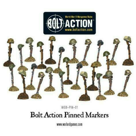 Bolt Action Pinned Markers WGB-PIN-01 New