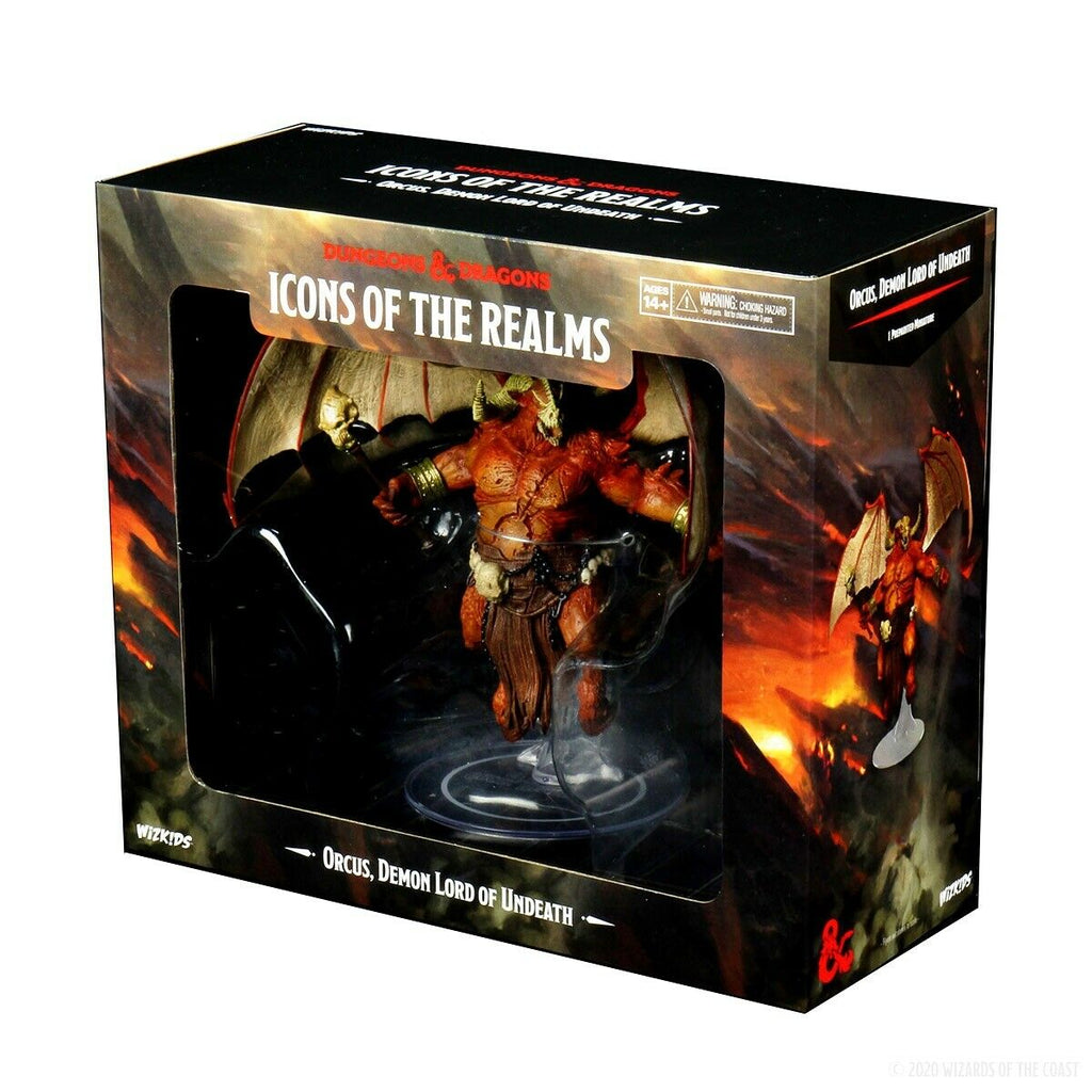 D&D Minis: Icons of the Realms Premium Figure: Orcus - Demon Lord of Undeath New