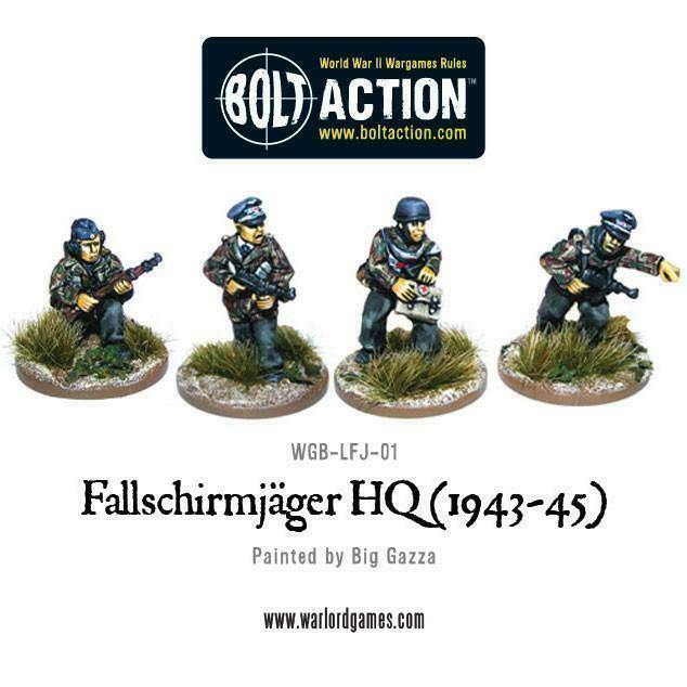 Bolt Action Fallschirmjager HQ (1943-45) New