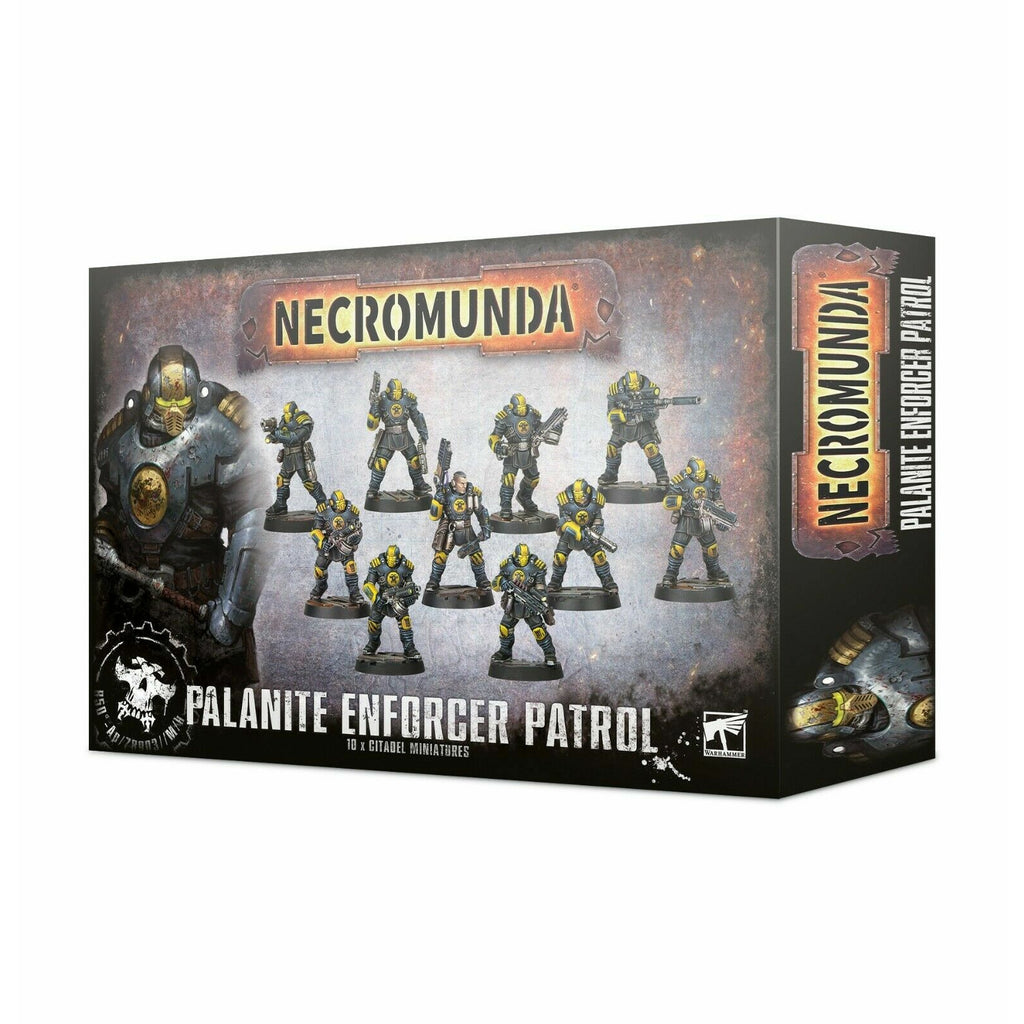 Warhammer NECROMUNDA: PALANITE ENFORCER PATROL New