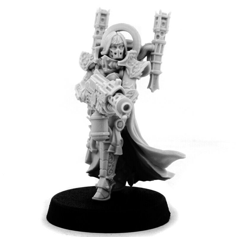 Wargame Exclusive Emperor Sister with Standard Matriarchat Bannerträger