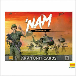 Flames of War NAM - ARVN Forces in Vietnam Unit Cards New