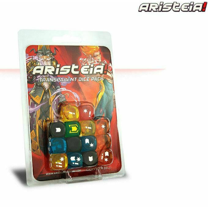Aristeia: Transparent Dice Pack New