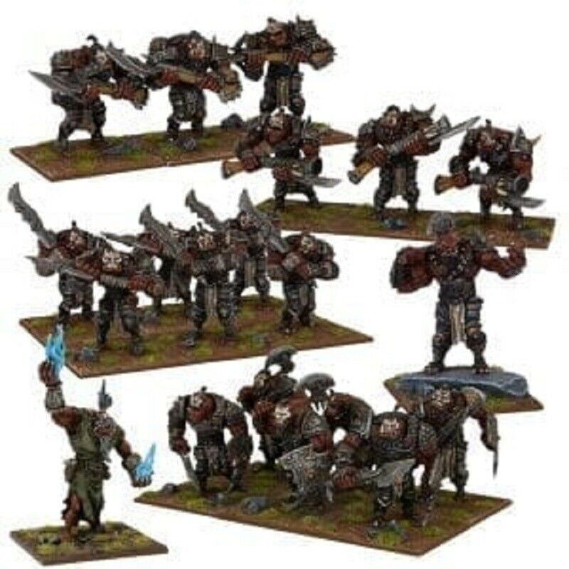 Kings of War Ogre Army New